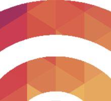 Rainbow Wifi Sticker