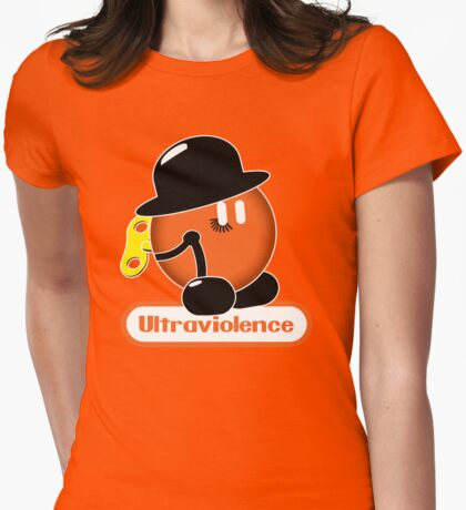 An Orange Clockwork (Ultraviolence Version) Womens Fitted T-Shirt