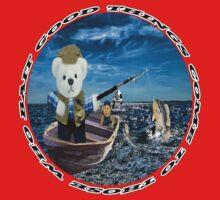 ☀ ツ GOOD THINGS COME TO THOSE WHO BAIT TEDDY BEARS FISHING TEE SHIRT☀ ツ Baby Tee