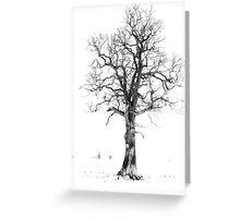 The Lonley Tree Greeting Card