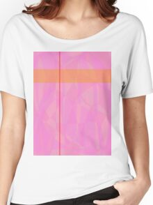 Minimalism Pink Marble Women's Relaxed Fit T-Shirt