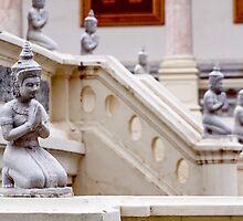 Apsaras of Silver Pagoda by Vladimir Rudyak