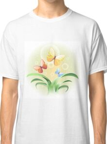 sprouts and butterflies Classic T-Shirt