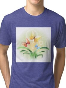 sprouts and butterflies Tri-blend T-Shirt