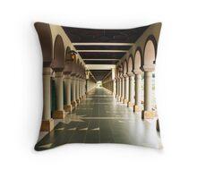Islamic Center of Samarinda Alleyway Throw Pillow