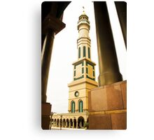 Mosque Minaret of Islamic Center of Samarinda Canvas Print