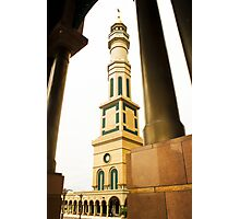 Mosque Minaret of Islamic Center of Samarinda Photographic Print