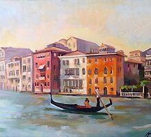 Il gondoliere by painterflipper