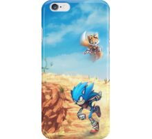 Sonic the Hedgehog Fan Art - Boom Sonic & Tails iPhone Case/Skin