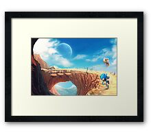 Sonic the Hedgehog Fan Art - Boom Sonic & Tails Framed Print