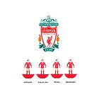 Liverpool Legends (Subbuteo) by Stephen Knowles