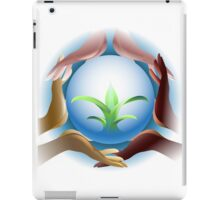 Ecological concept iPad Case/Skin