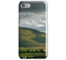 Ingleborough, A Different View iPhone Case/Skin