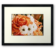 On a Rosy Day Framed Print