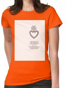 Tattoo Comp |  Mothers Heart Womens Fitted T-Shirt