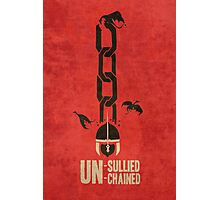 Unsullied Unchained Photographic Print