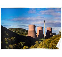 Ironbridge Powerstation Poster