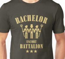 Bachelor Escort Battalion (Stag Party / Sand) Unisex T-Shirt
