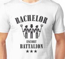 Bachelor Escort Battalion (Stag Party / Black) Unisex T-Shirt
