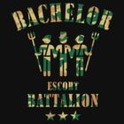 Bachelor Escort Battalion (Stag Party / Camouflage) by MrFaulbaum