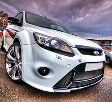 White Ford Focus RS Turbo by CarlH2013