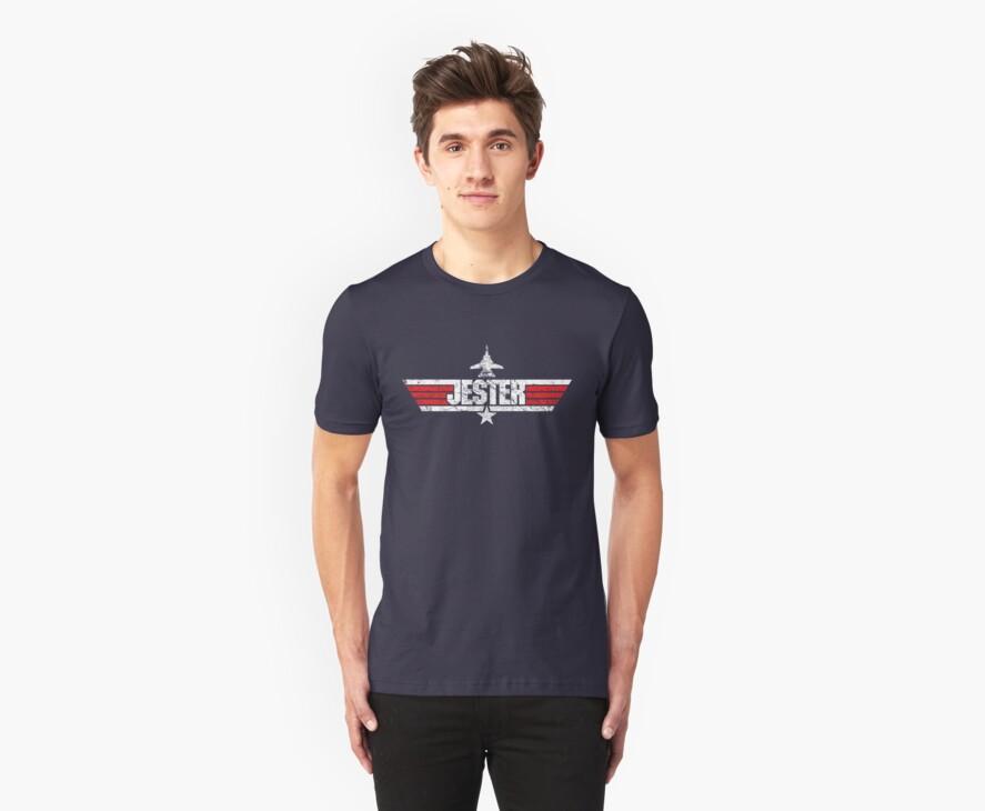 Custom Top Gun Style - Jester by CallsignShirts