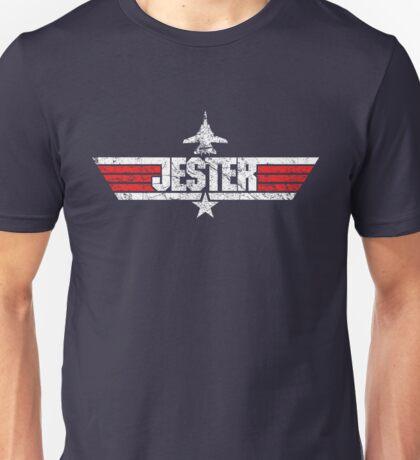 Custom Top Gun Style - Jester Unisex T-Shirt