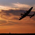 Lancaster Sundown by James Biggadike