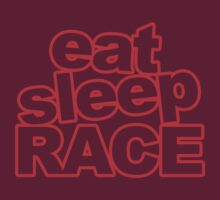 Eat Sleep Race by Barbo