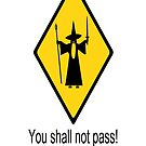 you shall not pass funny by dinos