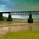 Bridge Over Estuary by Tickleart