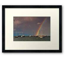 """""""A Covenant Over Corio Bay"""" Framed Print"""