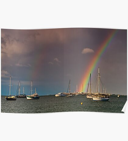 """A Covenant Over Corio Bay"" Poster"