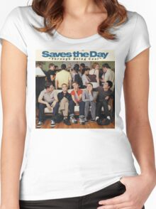 Saves the Day - Through Being Cool Women's Fitted Scoop T-Shirt