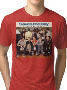 Saves the Day - Through Being Cool Tri-blend T-Shirt