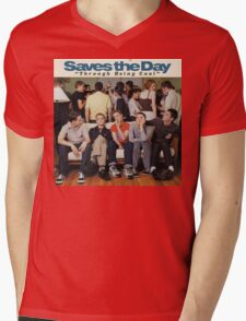 Saves the Day - Through Being Cool Mens V-Neck T-Shirt