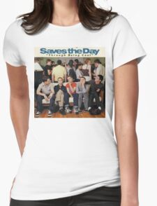 Saves the Day - Through Being Cool Womens Fitted T-Shirt