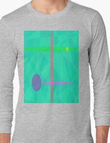 Nirvana Green Long Sleeve T-Shirt