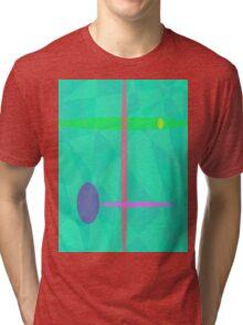 Nirvana Green Tri-blend T-Shirt