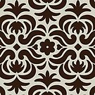 Damask Pattern - Garden I by TropicalGarden