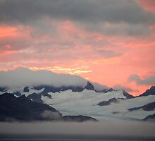 Sunset over South Georgia by Mark Rawden