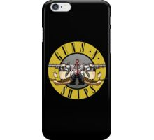 guns n ships iPhone Case/Skin