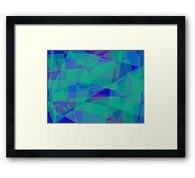 South Pacific Ocean Framed Print