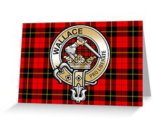 Wallace Clan Crest Greeting Card