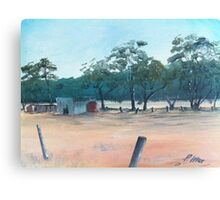 Australian Land Canvas Print