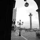 Piazzeta San Marco by hans p olsen