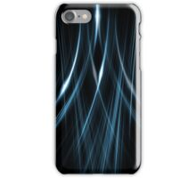 Lines Blue Double iPhone Case/Skin