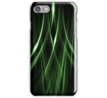 Lines Green Double iPhone Case/Skin