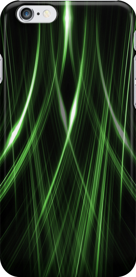 Lines Green Double by J. Danion