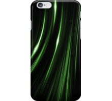 Lines Green iPhone Case/Skin